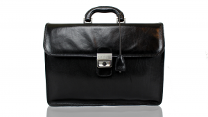 Briefcase  The Bridge  06500801 20 Nero