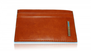 Credit cards holder  Piquadro Blue square PP906B2 Arancio