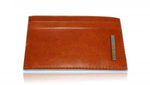 Porte cartes de crédit Piquadro Blue square PP906B2 Arancio