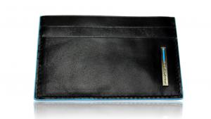 Porta carte di credito Piquadro Blue square PP906B2 Nero
