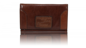 Woman wallet The Bridge  01725875 14 cuoio