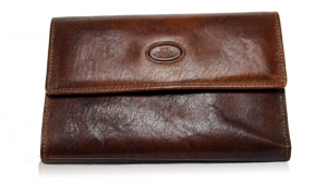 Woman wallet The Bridge  01776201 14 Cuoio
