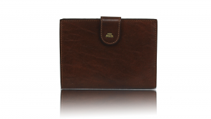 Woman wallet The Bridge  01701501 14 Cuoio