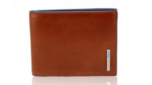 Portefeuille pour homme Piquadro Blue square PU1239B2 ARANCIO