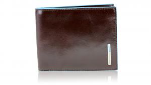 Portefeuille pour homme Piquadro Blue square PU1239B2 MOGANO
