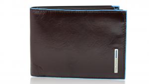 Portefeuille pour homme Piquadro Blue square PU1392B2 MOGANO
