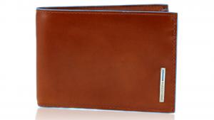 Portefeuille pour homme Piquadro Blue square PU1392B2 ARANCIO