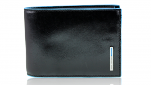 Portafogli uomo Piquadro Blue square PU1392B2 NERO
