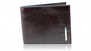 Portefeuille pour homme Piquadro Blue square PU1241B2 MOGANO