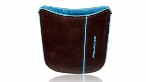 Porta cellulare Piquadro Blue square AC2820B2 Mogano