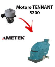 Motore Ametek di aspirazione per Lavapavimenti Tennant 5200