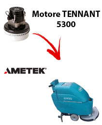 Motore Ametek di aspirazione per Lavapavimenti Tennant 5300