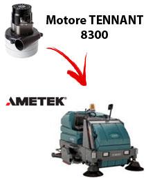 Motore Ametek di aspirazione per Lavapavimenti Tennant 8300