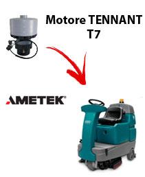 Motore Ametek di aspirazione per Lavapavimenti Tennant T7