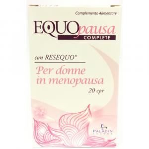 EQUOPAUSA COMPLETE 20CPR COMPLEMENTO ALIMENTARE CON RESEQUO PER DONNE IN MENOPAUSA