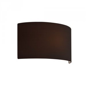 LIMA paralume in tessuto nero per applique