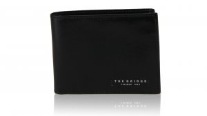Portefeuille pour homme The Bridge  01417501 20 Nero