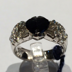 Anello Diamante Nero