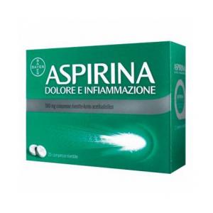 ASPIRINA DOLORE E INFIAMMAZIONE COMPRESSE RIVESTITE 500MG