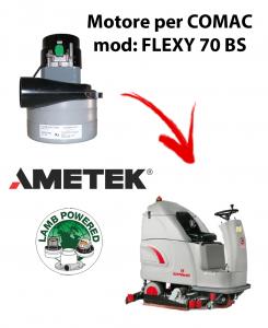 Motore aspirazione Ametek per Lavapavimenti COMAC FLEXY 70 BS