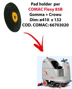 TRASCINATORE ( pad holder) per lavapavimenti COMAC Flexy 85B