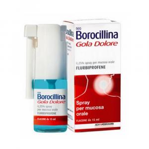 NEOBOROCILLINA GOLA DOLORE SPRAY A BASE DI FLURBIPROFENE