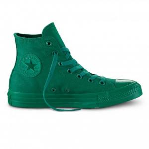 Converse Chuck Taylor alta Monochrome - Verde Verde 49e81e76a092