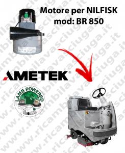 Motore aspirazione Lamb Ametek per Lavapavimenti Nilfisk BR 850