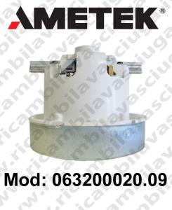 Motore aspirazione 063200020.09 AMETEK per aspirapolvere