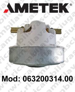 Motore aspirazione 063200314.00 AMETEK per aspirapolvere