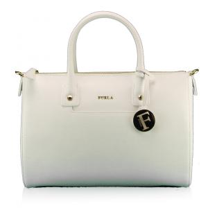 Hand and shoulder bag Furla LINDA 811476 CHALK