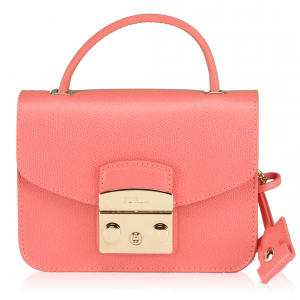Hand and shoulder bag Furla METROPOLIS 808149 COLOR CORALLO