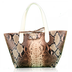 Shopping reversibile Patrizia Pepe - 2V5516 A1DW Natural Python