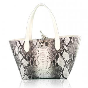 Shopping bag Patrizia Pepe - 2V5516 A1DW White Python