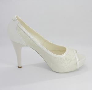 Scarpe sposa elegante in pizzo Art. 270 var