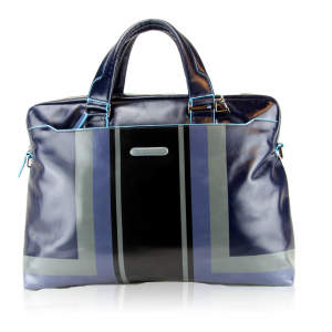 Sac business Piquadro Blue square ser CA3335B2SER Blu