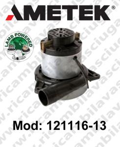 Motore aspirazione LAMB AMETEK 121116-13 per lavapavimenti o aspirapolvere
