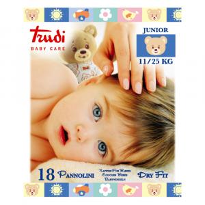 TRUDI BABY CARE PANNOLINI DRY FIT TESSUTO SUPERASSORBENTE E TRASPIRANTE