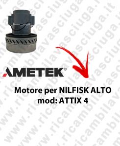 Motore aspirazione AMETEK per aspirapolvere ATTIX 4 NILFISK