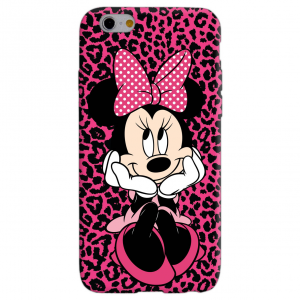 MINNIE LEOPARD cover per iphone vari modelli