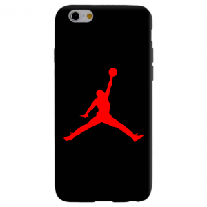 JORDAN AIR RED cover per iphone