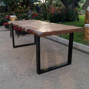 Tavolo impero tavolo in legno massello di castagno con - Gambe per tavolo legno ...