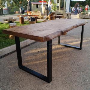 Tavolo impero tavolo in legno massello di castagno con - Mobili in castagno massello ...