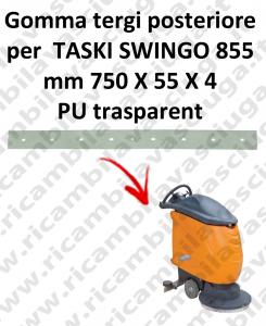 Gomma tergipavimento posteriore per lavapavimenti TASKI Swingo 855