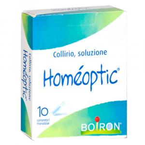 HOMEOPTIC COLLIRIO 10 FLACONCINI MONODOSE - MEDICINALE OMEOPATICO