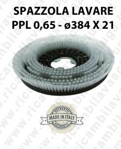 SPAZZOLA LAVARE  in PPL 0,65. Dimensioni ø384 X 121 valida per lavapavimenti, monospazzole (17 pollici) e spazzatrici-2