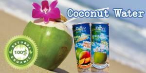 ACQUA DI COCCO/ COCCO E MANGO- Rinfrescante e Rigenerante -6 lattine