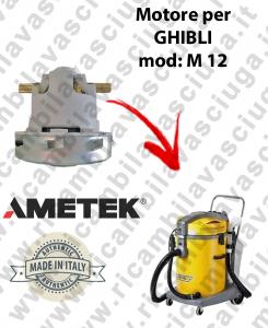 M 12 motore aspirazione per macchina estrattrice moquette GHIBLI