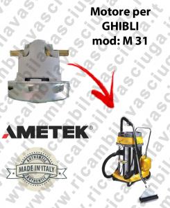 M 31 motore aspirazione per macchina estrattrice moquette GHIBLI
