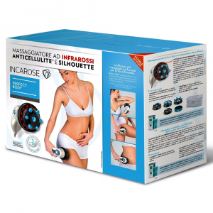 INCAROSE PERFECT BODY: MASSAGGIATORE AD INFRAROSSI ANTICELLULITE E SILHOUETTE